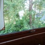 紙ひこうき - 窓際の席からの眺め