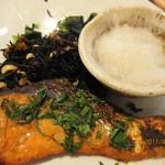 大戸屋 - 紅鮭の大葉香味焼き