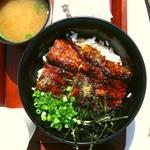 魚太郎 大府店 - うなぎ丼並1200円