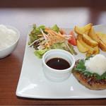シガラキカフェ - 料理写真:おろしハンバーグランチ