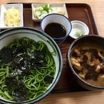東家 - 料理写真:鳥ざる(ざる汁付き)