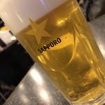 ゆるり - 生ビール