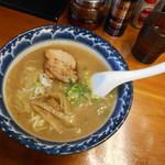 麺食堂 一真亭 - 拉麺(並)