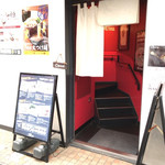 73466189 - 一階にあるお店の入り口、一階は一風堂梅田店