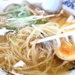 73467310 - 綺麗な細麺(*゚∀゚人゚∀゚*)♪