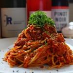 お野菜小皿料理のワインバル KiboKo - 本日の全粒粉スパゲッティ