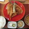 平塚漁港の食堂 - 料理写真:「地魚ミックスフライ定食」1,380円