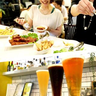 """クラフトビール""""3種類飲み比べ"""""""