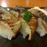 乙羽 - 焼きサバ寿司です♪