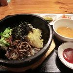 うま豚 - 石焼ビビンバランチ500円