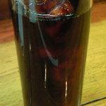 キッチンれん - 豚の生姜焼き 900円 のアイスコーヒー