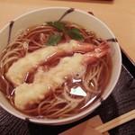 73489309 - 海老天蕎麦(温)2本バージョン