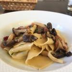 73489427 - パッパルデッレ パンチェッタと平茸のソース