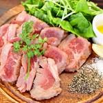 高級イベリコ豚の鉄板焼き
