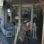 Kuudle cafe - 外からの眺め