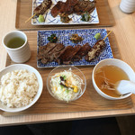 gyuutanyakitodategohandatenariya - 2354円の定食とは思えません(怒)