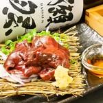 タチヒコ キッチン310 - 【京都鴨肉】炙りレバーたたき