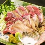 タチヒコ キッチン310 - 【京都鴨肉】炙りももたたき