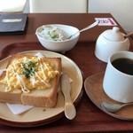 ルヴェージュ - 料理写真:Bセットモーニング、これで500円です(2017.9.21)