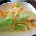 プアンタイ - 生野菜サラダ。