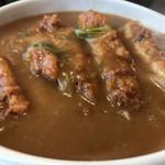 ふじきち - 料理写真:これしか食べたことの無いカツカレーうどん(2017.9.21)