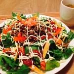 グッドニュースカフェ - 野菜いっぱいタコライス