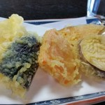 73496628 - 野菜天ぷら。