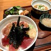 神田 新八 - 料理写真:鮪脳天 鮪 ネギトロ丼
