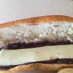 パンのくま小屋 - コッペパン   あんバター