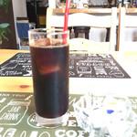Cafe&IT Fiesta - アイスコーヒー。