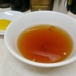 交通飯店 - セットのスープ