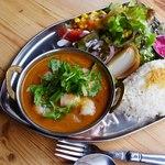 NAAK CAFE  - 南インドのエビカレーココナッツ風味
