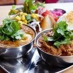 NAAK CAFE  - インドカレー2種盛り