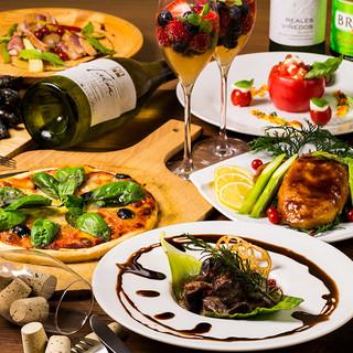 ◆ドリンクは当店の創作バル料理にあう銘酒~王道酒まで多数有◆