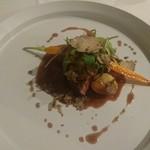 四間道レストランMATSUURA - アンガス牛フィレ肉のポワレ