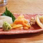 焼貝うぐいす - 平貝、青柳、白ミル貝