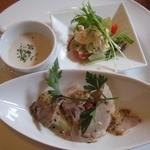 リバーウォークカフェ - おまかせの前菜3種♪