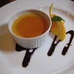 リバーウォークカフェ - おまかせデザート:ほうじ茶のブラマンジェ