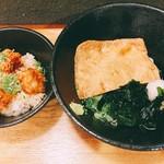 本町製麺所 天 - 本日のうどん定食