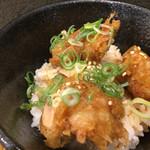 本町製麺所 天 - ミニとり天丼