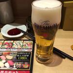 すし将軍 - 小ビール