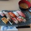 活鮮 - 料理写真:にぎわいランチ、味噌汁 飲み放題