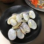 えびつラーメンセンター - 焼飯(貝汁付)600円