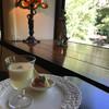 カフェ・ド・ドルチェ - 料理写真:前菜のヴィシソワーズと旬の果物生ハムのサラダレモンのジュレ