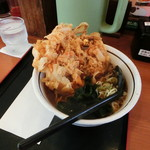 山田うどん食堂 - 料理写真:かき揚げそば