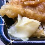 鮮魚仕出し 幾の家 - 箸休めのガリ