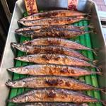 鮮魚仕出し 幾の家 - 今が旬の秋刀魚の塩焼き