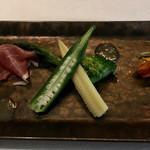 SAMURAI dos Premium Steak House - 季節の野菜の一品