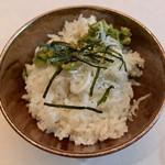 SAMURAI dos Premium Steak House - もち麦入りご飯