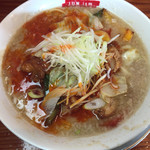 滋魂 - 『蛎油鶏麻辣麺』 (ハオユーチーマーラーメン )880円